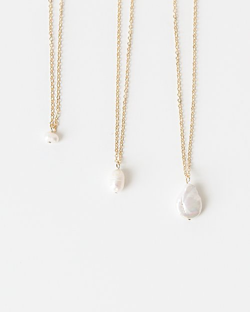 좋은옷 만드는 럭스위즈닷컴MD82NC_SET NecklaceFresh-water Pearl NC